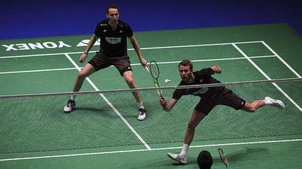Mathias Boe/Carsten Mogensen punya jam terbang jauh lebih tinggi dibandingkan Kevin Sanjaya/Marcus Fernaldi Gideon.