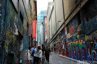 Hosier Lane (Randy/detikTravel)