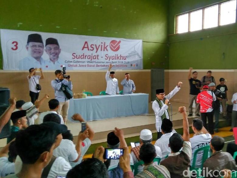 Diungkit Ridwan Kamil, Begini Aksi Sandi Kampanye di Pilkada 2018