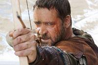 Russel Crow salah satu aktor yang pernah berperan sebagai Robin Hood.