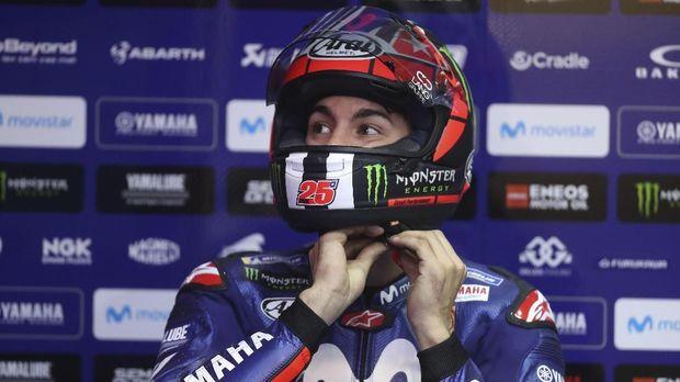 Maverick Vinales dikalahkan Marc Marquez di babak kualifikasi MotoGP Amerika Serikat.