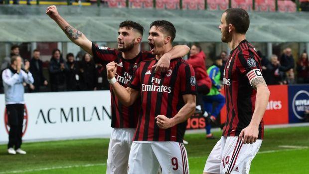 AC Milan berusaha mencuri kemenangan di markas Juventus.