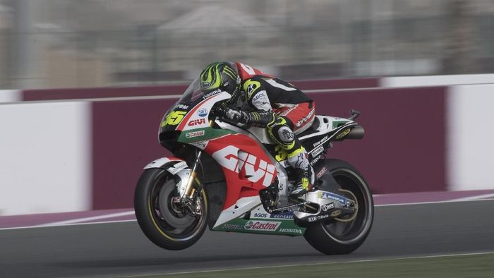 Cal Crutchlow menjadi pebalap tercepat di latihan bebas kedua MotoGP Spanyol (Foto: Mirco Lazzari gp/Getty Images)