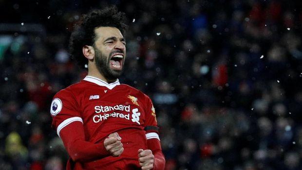 Mohamed Salah tampil gemilang di Liverpool musim ini.