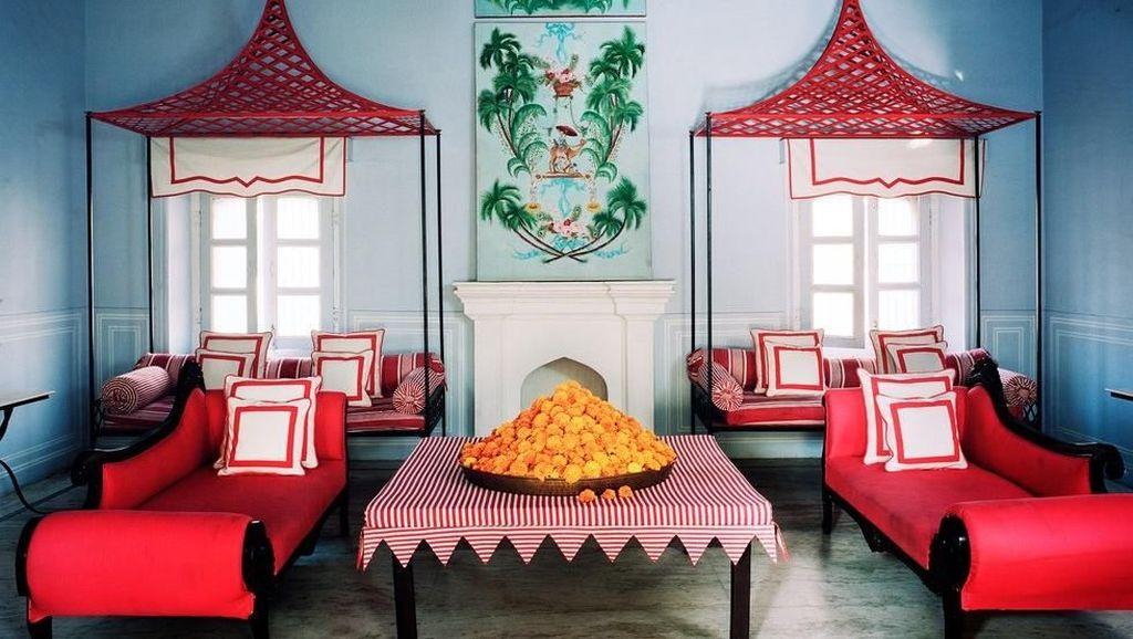 Ngeteh Cantik di Bar Palladio Berinterior Italia dan India yang Indah