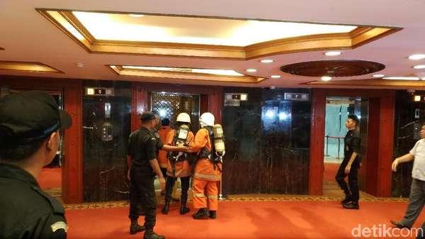 Gedung Nusantara III yang Kebakaran Dihuni Pimpinan DPR