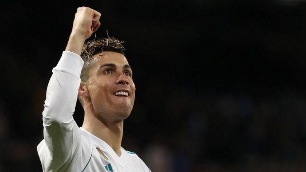 Tubuh tanpa tato membantu Cristiano Ronaldo tampil prima di atas lapangan.