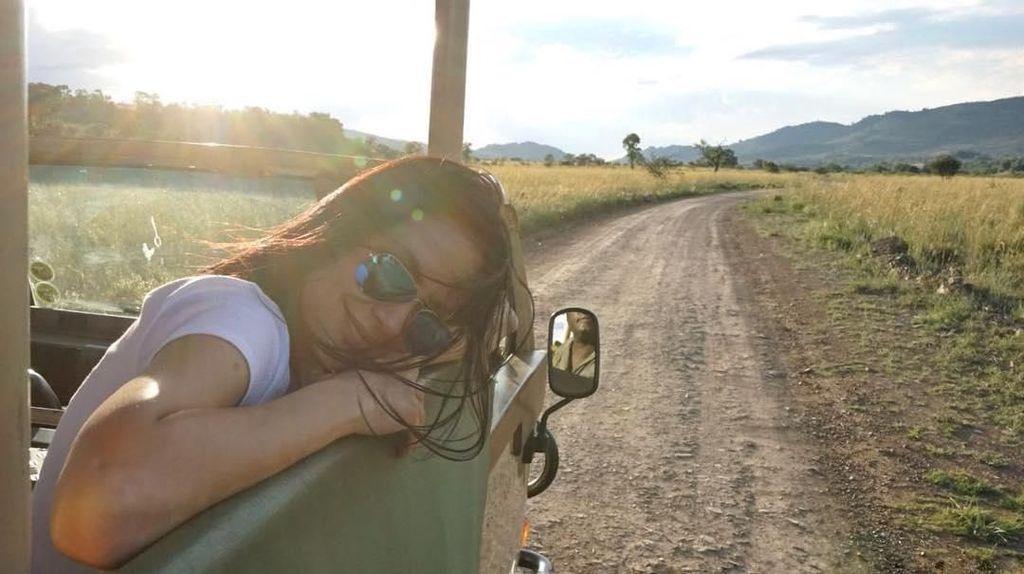 Foto: Liburan Seru Sophia Latjuba di Afrika Selatan