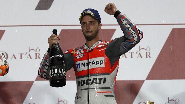 Pundi Dovizioso naik drastis setelah prestasi oke di 2017