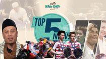 Tangis Opick di Makam Istri Kedua, Dovizioso Juara MotoGP Qatar