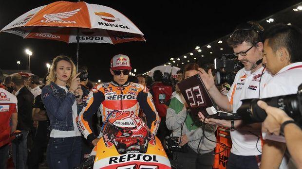 Marc Marquez dalam sorotan tajam lantaran insiden tabrakan dengan Valentino Rossi di MotoGP Argentina dua pekan lalu.