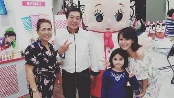 Potret Kebersamaan Chef Harada dan Bidadarinya