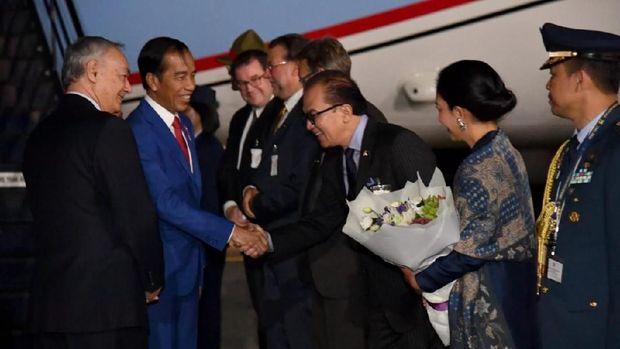 Tiba di Selandia Baru, Jokowi Siap Bahas Hubungan Bilateral