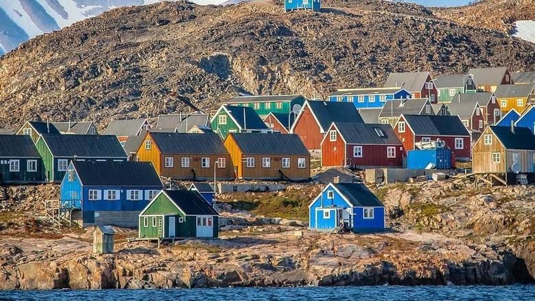 Kota Ittoqqoortoormiit di Greenland (oia9/Instagram)
