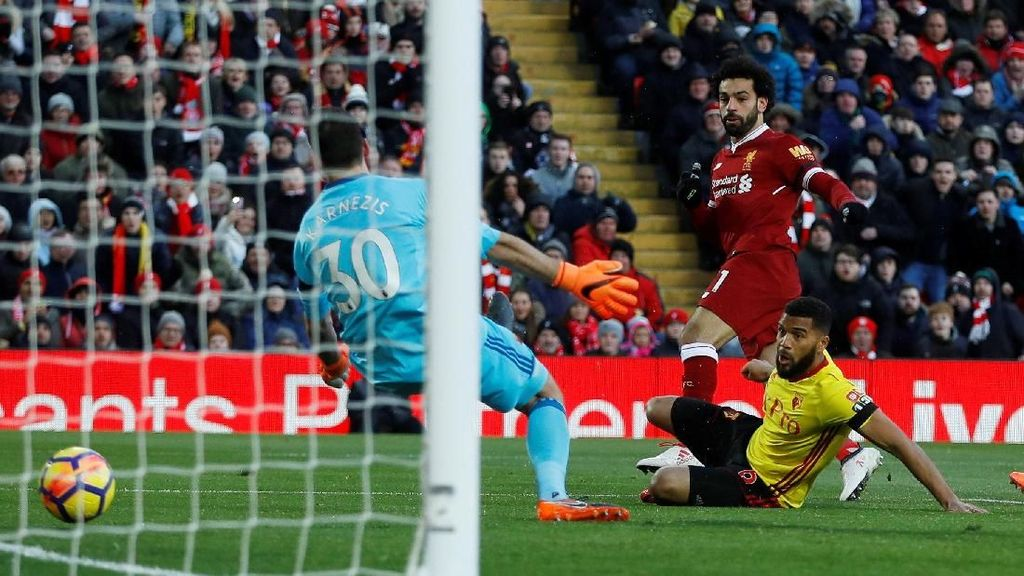 Liverpool Vs Watford: Pesta Gol Lagi di Anfield?