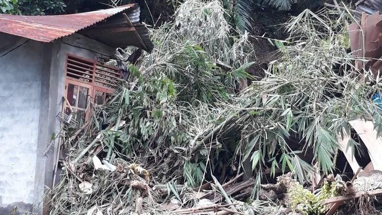 Longsor di Manado, 1 Orang Tewas dan 2 Rumah Rusak