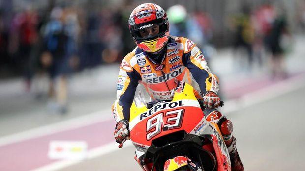 Marc Marquez adalah raja MotoGP Amerika Serikat.