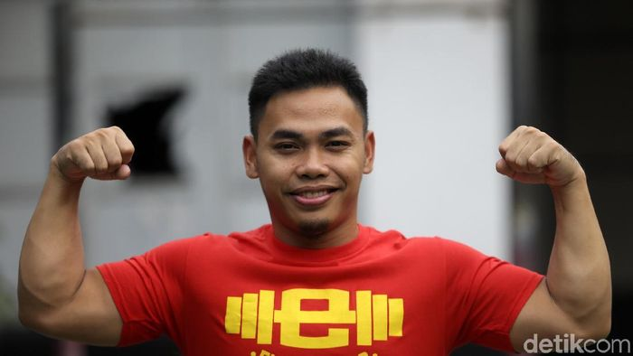 Eko Yuli Irawan (Agung Pambudhy/detikSport)