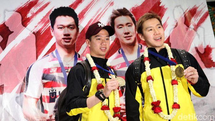 Kevin/Marcus menargetkan medali emas Asian Games 2018 (Grandyos Zafna/detikSport)
