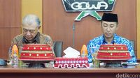 Sekertaris Daerah Kabupaten Gowa, Drs H Muchlis, SE, MSi dan Duta WHO, Yohei Sasakawa