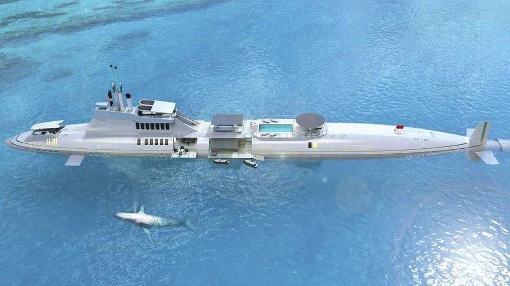Foto: Kapal Selam Privat Termahal di Dunia
