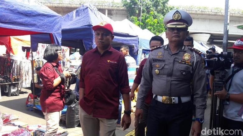 Ombudsman DKI dan Ditlantas Polda Tinjau Penataan Tanah Abang