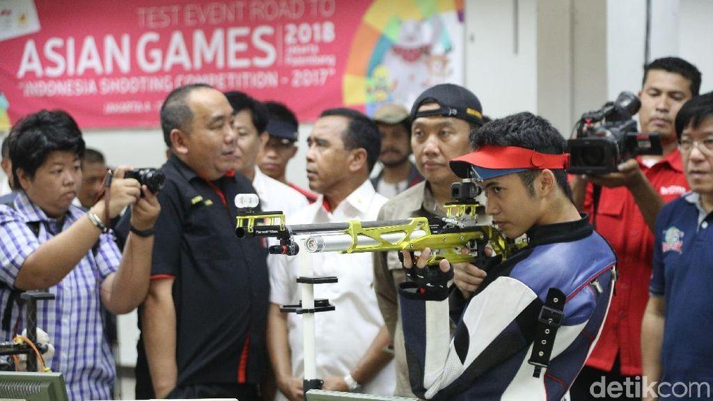 Perbakin Janjikan Sumbang Emas di Asian Games 2018