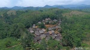 Foto Drone: Kampung Eksotis Baduy Luar
