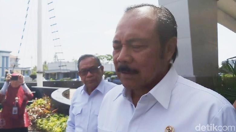Wantimpres Kunjungi RSAL Surabaya, Cek Atap Runtuh?