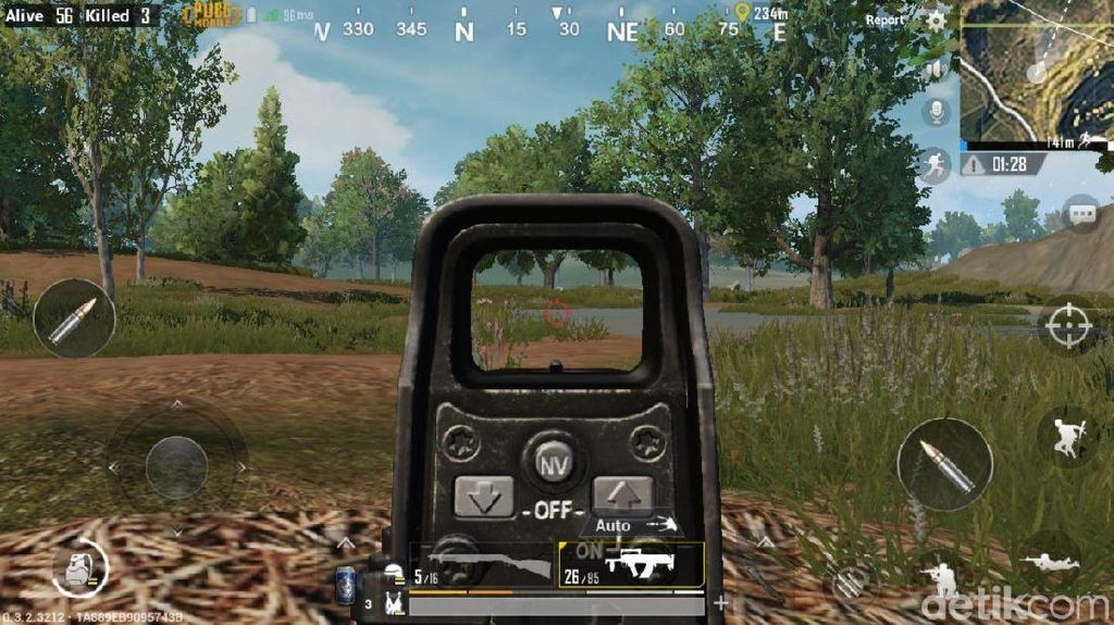 Update PUBG Mobile Hadirkan Mode FPS