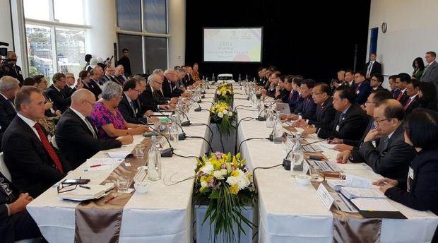 Pertemuan bilateral antara Indonesia dan Selandia Baru