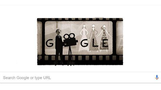 Google Doodle hari ini, 20 Maret, menampilkan Usmar Ismail.