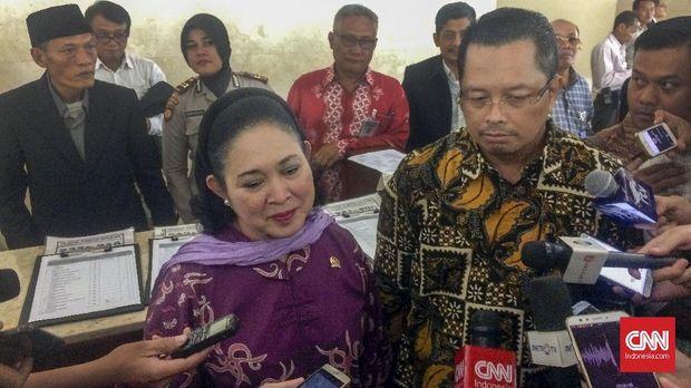 Titiek Soeharto akan menggantikan Mahyudin sebagai Waka MPR