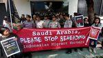 Kecam Hukum Mati TKI, Aktivis Demo Kedubes Arab Saudi