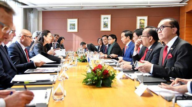 Pertemuan Bilateral Indonesia-Selandia Baru