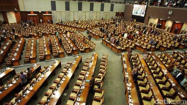 Paripurna Pengesahan RUU Antiterorisme, 461 Anggota Dewan Absen
