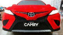 Mobil Toyota Ini Terbuat dari Setengah Juta Lego