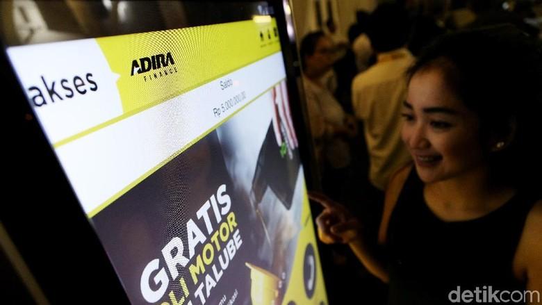 Aplikasi Akses Adira Finance (Foto: Grandyos Zafna)