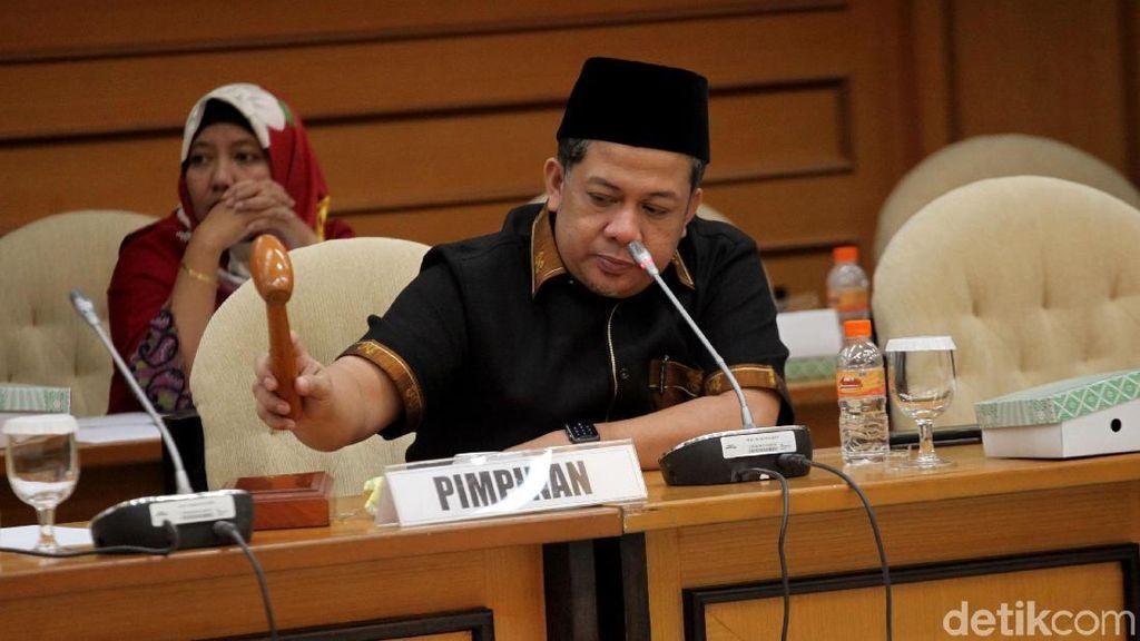 Fahri Hamzah ke Sri Mulyani: Bu Menteri, DPR Kurang Ruangan