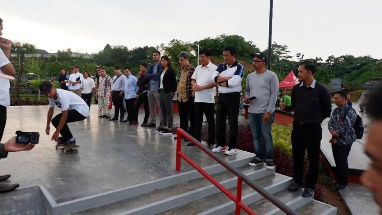 Menpora Kunjungi BSD Xtreme Park