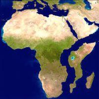 Jika Afrika Terbelah Dua, Begini Bentuknya