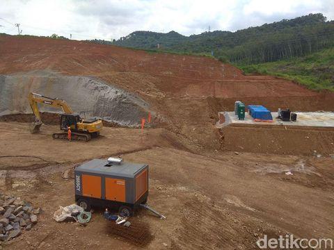 Penampakan terkini lokasi proyek kereta cepat JKT-BDG