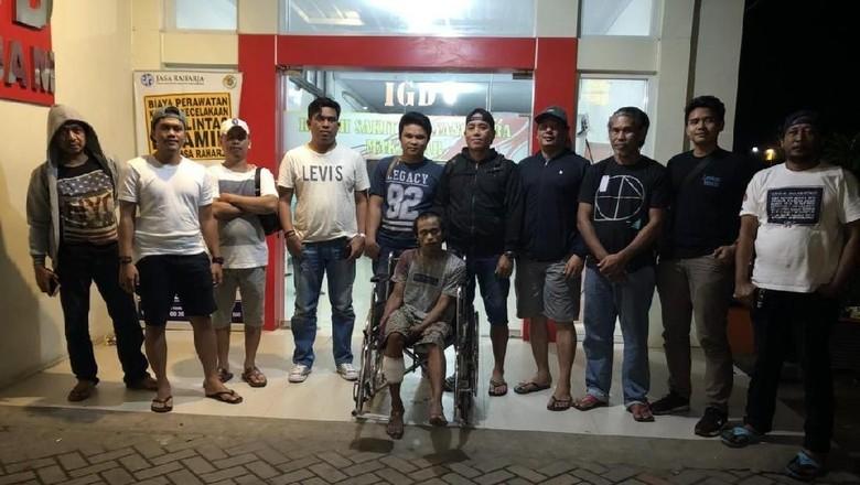 Polisi Lumpuhkan Kaki Pembobol Toko di Makassar dengan Timah Panas