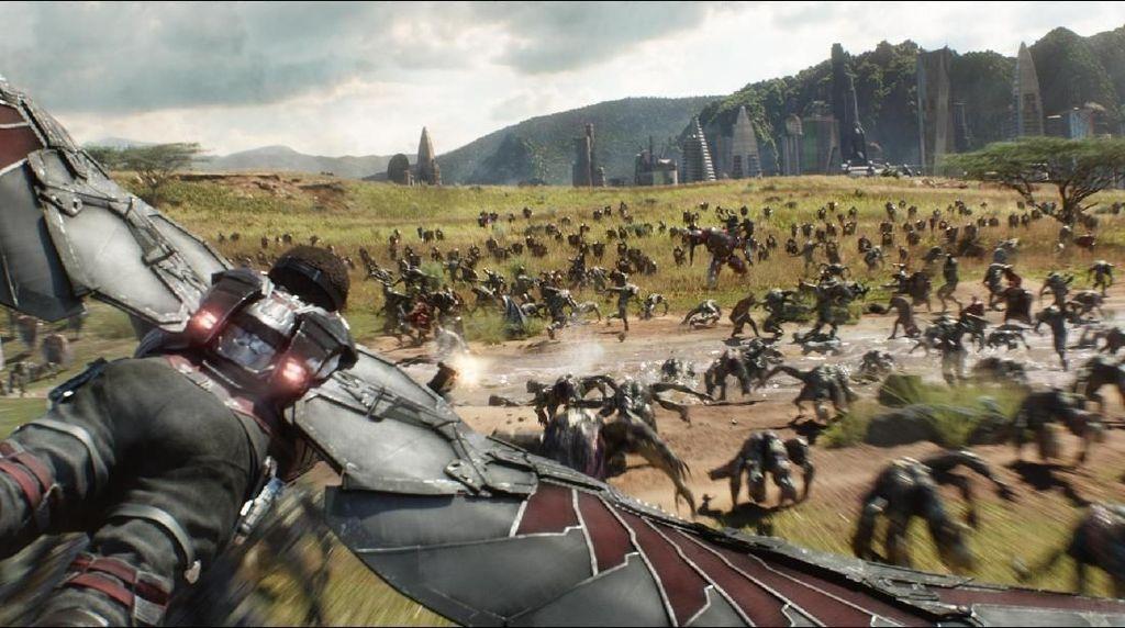Terungkap! Infinity War Gunakan CGI Besar-besaran