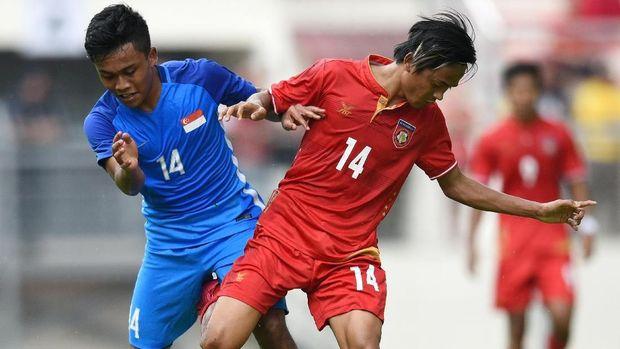 Timnas Singapura terpuruk di dua edisi Piala AFF.