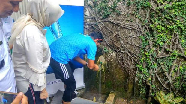 Sandiaga mengaku rumahnya baru menggunakan air PAM.