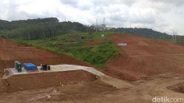 Penampakan terkini lokasi proyek kereta cepat JKT-BDG di Walini