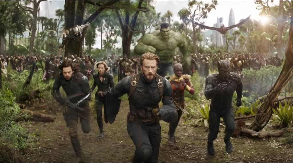 Avengers: Infinity War Menang People Choices Awards 2018