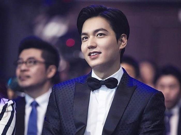 Aktor Korea Selatan Lee Min Ho. Foto: Instagram