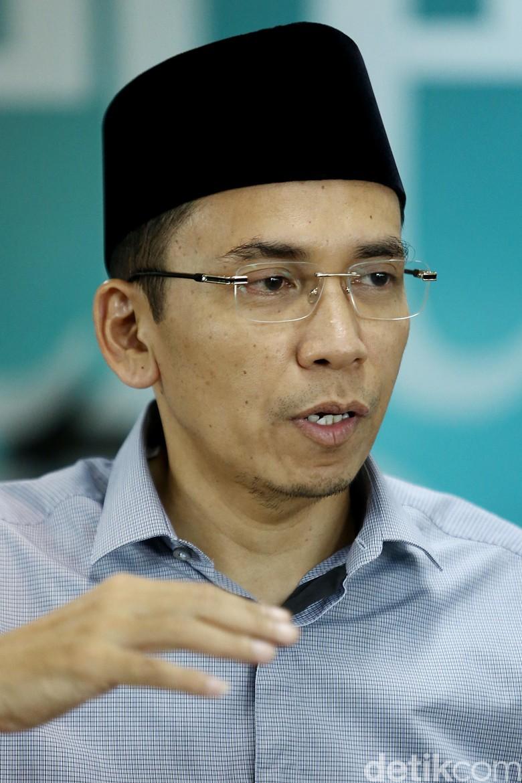 SMRC: TGB Berpeluang Jadi Cawapres Jokowi
